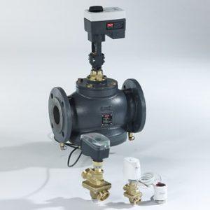 Válvulas de control y equilibrado independientes de la presión Danfoss