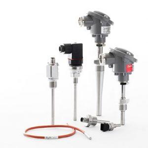 Sensores de temperatura industriales