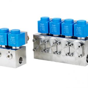 Válvulas solenoides Danfoss para aplicaciones de alta presión